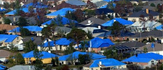 Emergency Blue Roof Protection In South Florida Miami